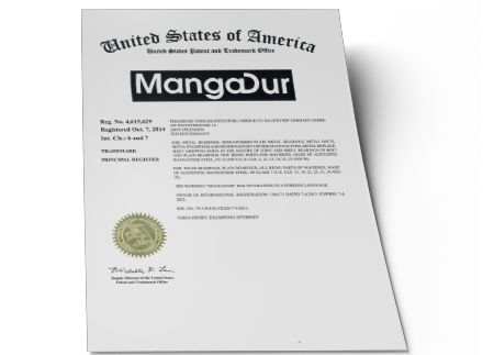 MangaDur® USA Trademark